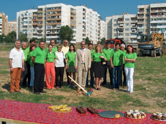 Groundbreaking of BULAGRO Centre in Stara Zagora